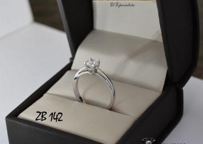 Anillo de compromiso ZB 142