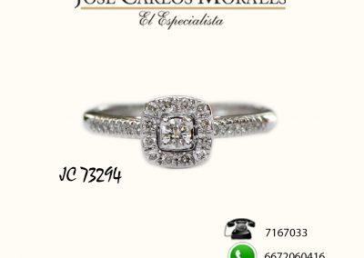 Anillo de compromiso JC 73294