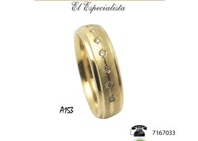 Argollas de matrimonio A153