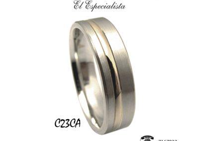 Argollas C23CA