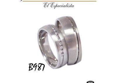Argollas B987