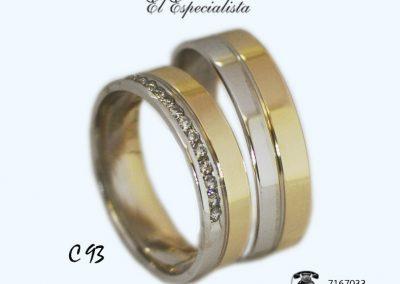 Argollas de matrimonio C93