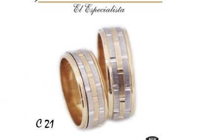 Argollas C21.