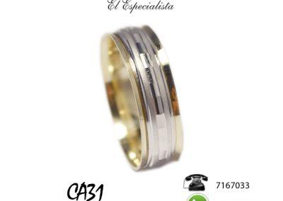 Argollas CA31